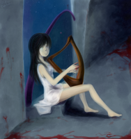 Song of the Cursed Harp by ItsRieuna