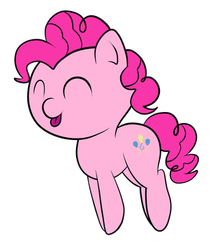Filly Pinkie by REPLAYMASTEROFTIME
