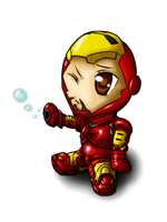 Chibi IronMan by Magy-san