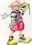 Sora (Kingdom Hearts) by BloodyJagger