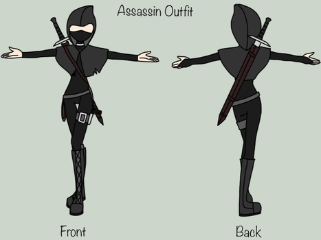 Assassin Outfit by XxSnowFirexX