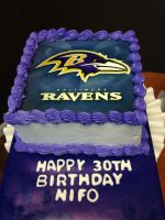 Baltimore Ravens by simplysweets