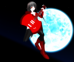 MMD Newcomer-marceline the vampire queen by KaylaChan92
