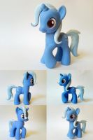 Trixie Lulamoon G4 Custom Pony by Oak23