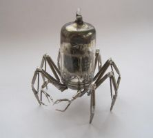 Vacuum Arachnid No 1 by AMechanicalMind