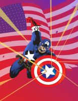 captain america by crost92