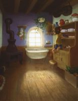 Kitchen sunlight by the-muddy