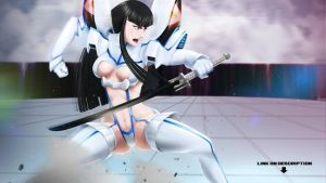 Satsuki kiryuin Kill la Kill Motion by darkheat