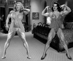 Marilyn and Jane 2 by ironb667