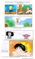 _One Piece:Luffy likes to help by dragon-fear