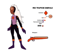 Red Trapiche Emerald's reference sheet by ProtanaArchives94