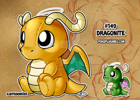 #149 Dragonite by cartoonist