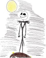 Jack Skellington by NinjaZombieCat