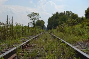 Train Tracks to Nowhere by Mummbles48
