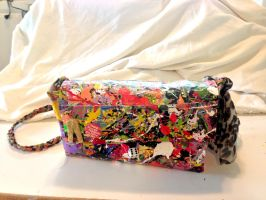 Splatter Purse by AtomicColor