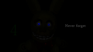 Fake fnaf 4 teaser by Dealwithitdewott