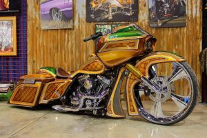 Gold and Green Bagger by DrivenByChaos