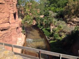 Grand Canyon Rapids by OliviaWhyteART