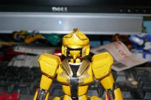 GOKAI CHANGE! Gundam Yellow! (old) by nikinaga