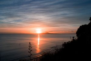 Mairangi Clifftop Sunrise by SadisticVeneer
