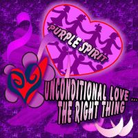 Purple Spirit is Unconditional by Star-Grace
