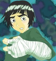 Rock Lee The Beautiful Beast by Animangas
