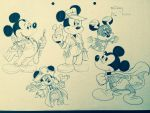 Character design of mickey mouse in film roles by waltoon