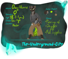 Oscar - The Underground City by Cookiewing