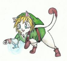 Link Kitten by NavaKitty