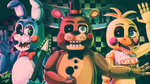 [FNAF SPEEDPAINT] THE TOY BAND by YumeChii-NI