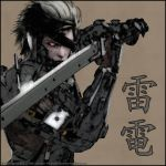 :: Raiden :: Japanese Canvas Style :: by PokeTheCactus