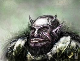 The friendly orc next door by michifromkmk