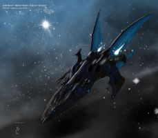 Eldar Shrike Bomber 2 by Addinarr