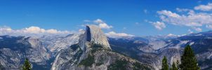 Half Dome Panorama by sintar
