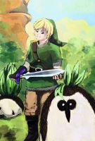 Link in Faron Woods by ArtExxo
