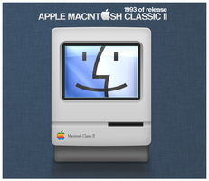 Apple Macintosh Classic II by D1m22