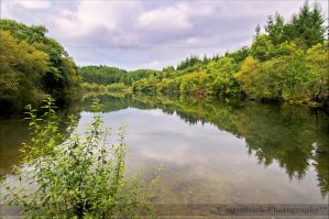 Llyn Mair Lake by Haywood-Photography