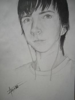 portrait done by Amel666 by AHogg