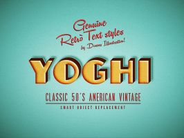 10 YOGHI CLASSIC 50's AMERICAN VINTAGE by Doomsillustration