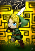 Chibi Link - Twilight Princess by Khay-Lis