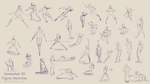 30 or So Poses by Quatre4