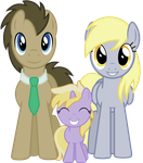 Doctor - Derpy - Dinky by sirhcx