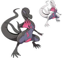 Pokemon Fan Art - Salazzle by TaylorTrap622