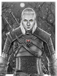 Young Witcher -  commission 16 by Akadio