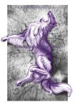 Borzoi of my purple dreams by Solkatt