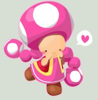 Toadette by soaney
