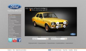 Ford concept website by Mitch-94