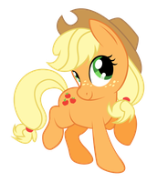 365 Day 196 Applejack by Korikian