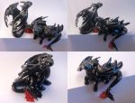Toothless brothers, hand made figurines by Akalewia