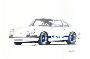 Porsche 911 RS 2.7 by klem